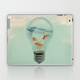 Ideas and Goldfish (RM) Laptop & iPad Skin