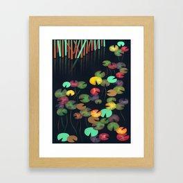 Nénuphars 1 Framed Art Print