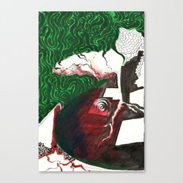 Page 7(2) Canvas Print
