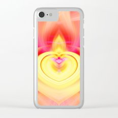 Valentine Heart Clear iPhone Case