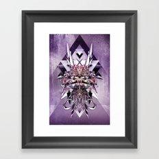 Armor Concept I Framed Art Print