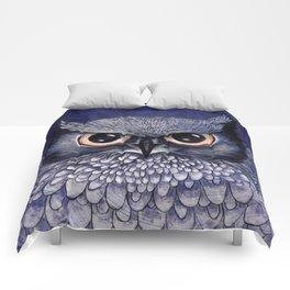 La Sagesse du Hibou (The Blue Owl) Comforters