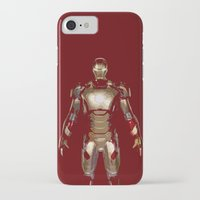 iron man iPhone & iPod Cases featuring Iron Man  by George Hatzis
