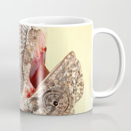 A Chameleon With Open Mouth Coffee Mug
