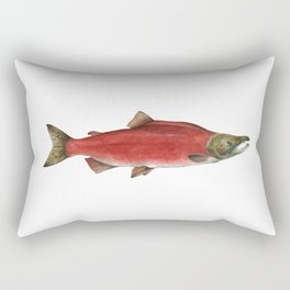 Sockeye Salmon Rectangular Pillow