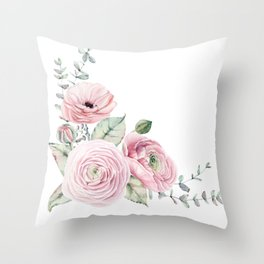 SUMMER PLEASURE SET Throw Pillow