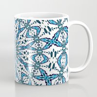 snowflake Mugs featuring Snowflake by Stay Inspired