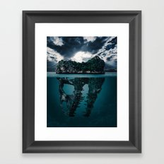 Mysterious Ocean Framed Art Print