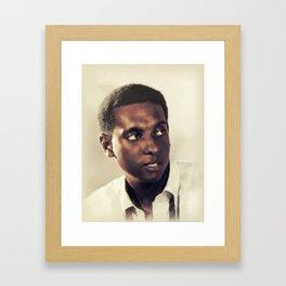 Stokely Carmichael, Civil Rights Framed Art Print