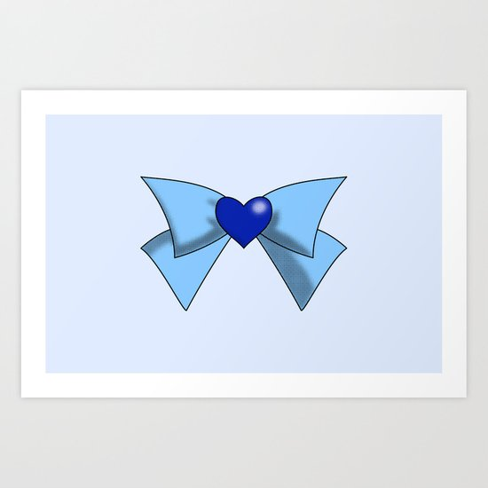 Super Sailor Mercury Art Print