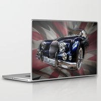 british flag Laptop & iPad Skins featuring British Beauty by Cozmic Photos