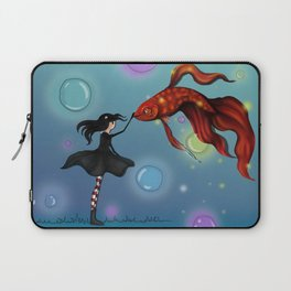 Dreamer and Obie Laptop Sleeve