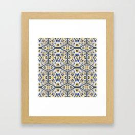 Modern Mystical Geometric 1 Framed Art Print