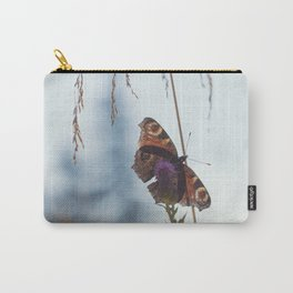 Mountain Butterfly Carry-All Pouch