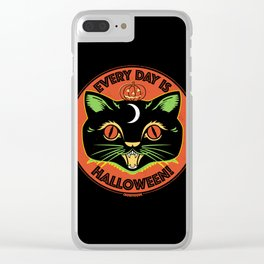 Every Day is Halloween Clear iPhone Case