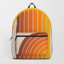 Gradient Arch - Vintage Orange Backpack