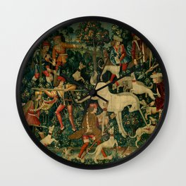 The Unicorn Defends Itself (from the Unicorn Tapestries) 1495–1505 Wall Clock