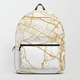 ZÜRICH SWITZERLAND CITY STREET MAP ART Backpack