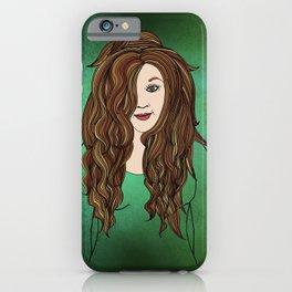 Little By Little Her Smile Returned iPhone Case