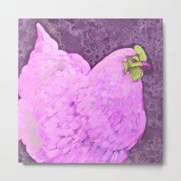 Pink Orp Metal Print