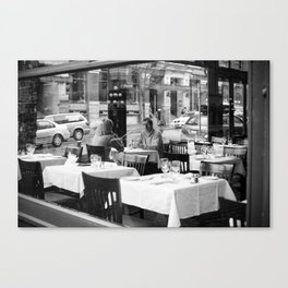 Water St. Cafe Canvas Print
