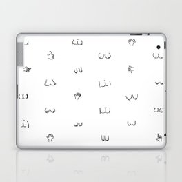 butts and boobies Laptop & iPad Skin
