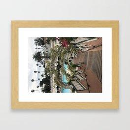 Beverley Hills Hotel Framed Art Print