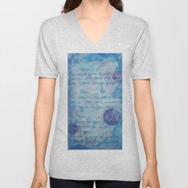 Lune Bleue No. 2 Unisex V-Neck