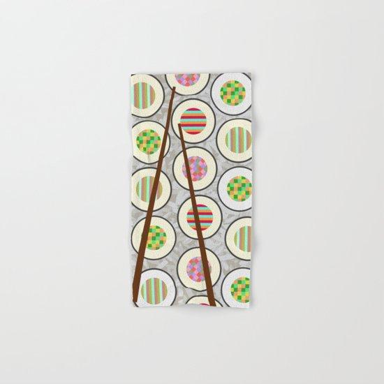 SushiTime Hand & Bath Towel