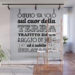 "Stampa ""Serataccia"" Wall Mural"