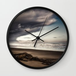 Stranded Before The Storm 1 Wall Clock