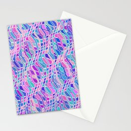 Multicolor Pattern Stationery Cards
