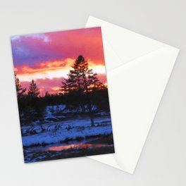 Norris Sunset Stationery Cards