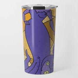 The Octo Mermaid (Royal) Travel Mug