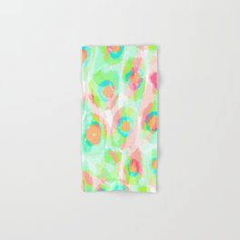 Eeva - bright and colorful Abstract Hand & Bath Towel