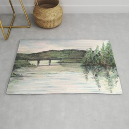 View from the Boathouse Rug