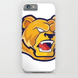 Grizzlies Sports Logo iPhone Case