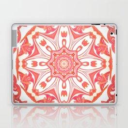 Romantic Peach Mandala Design Laptop & iPad Skin