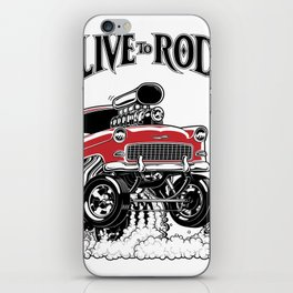 1955 CHEVY CLASSIC HOT ROD iPhone Skin