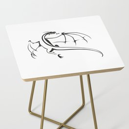 A simple flying dragon Side Table