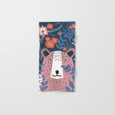 Bear Garden Hand & Bath Towel