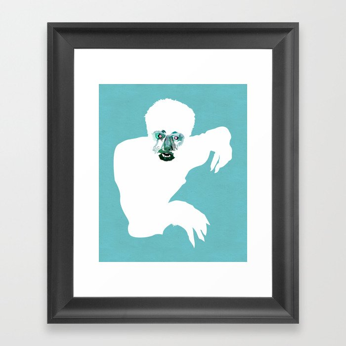 hombrelobo Framed Art Print