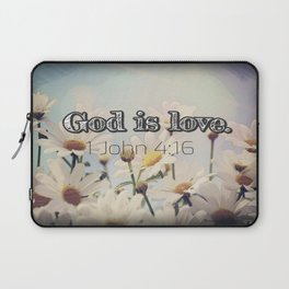 God is Love Laptop Sleeve