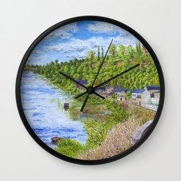 Chinon France Wall Clock
