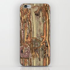 Worm Eaten Wood iPhone & iPod Skin
