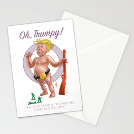 """Oh, Trumpy!"" — Military Quote 2 Stationery Cards"