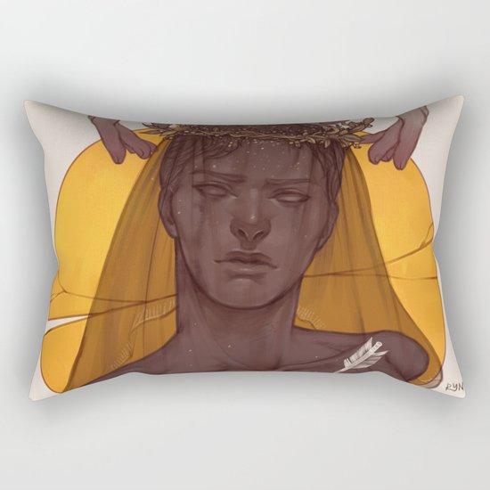 Fallen Prince Rectangular Pillow
