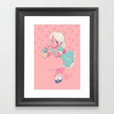 sassy doll Framed Art Print