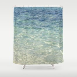 Ocean Blue Shower Curtain