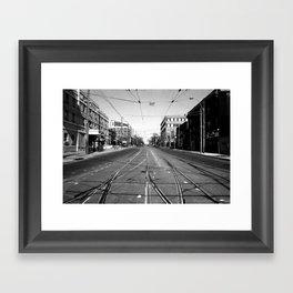 Off Queen - Roncesvalles Avenue - South Framed Art Print
